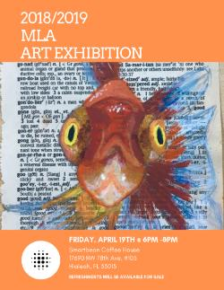 Mater Lakes Academy Upcoming Art Exhibition -- See FLyer for details